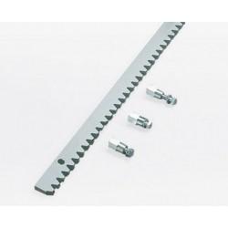 Stalowa listwa zębata 30x8mm odcinek 1m