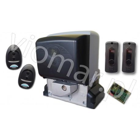 Zestaw BX PLUS z akcesoriami przeznaczony do bramy przesuwnej o max. wadze 400 kg