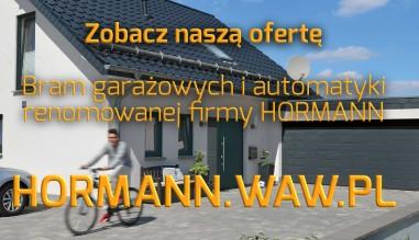 Zobacz naszą ofertę bram garażowych i automatyki firmy HORMANN